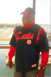 Jeff Turner, Cubs fan.   Family photo
