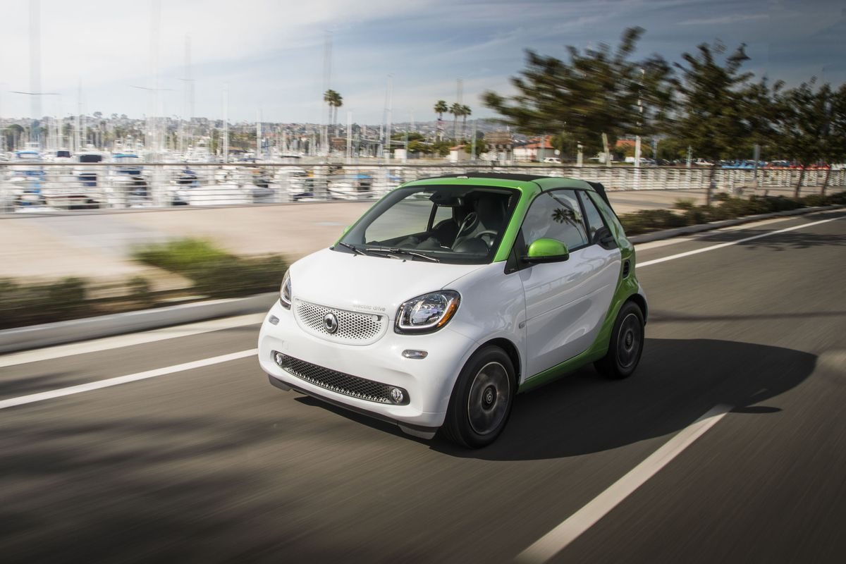 Smart Fortwo Electric Drive Cabrio Mercedes Benz Usa