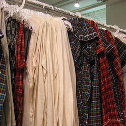 Pajamas! Onesies for $35, nighties for $55, tops $38, bottoms $25