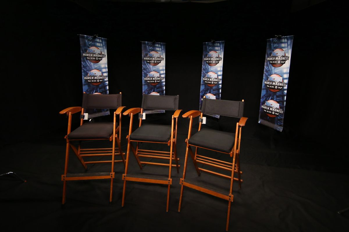 The pictured chairs are as empty as the minds of the morons at CBS when discussing UCLA.