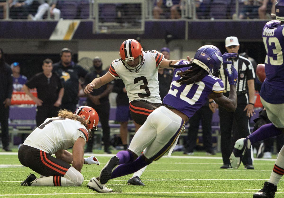 NFL: OCT 03 Browns at Vikings