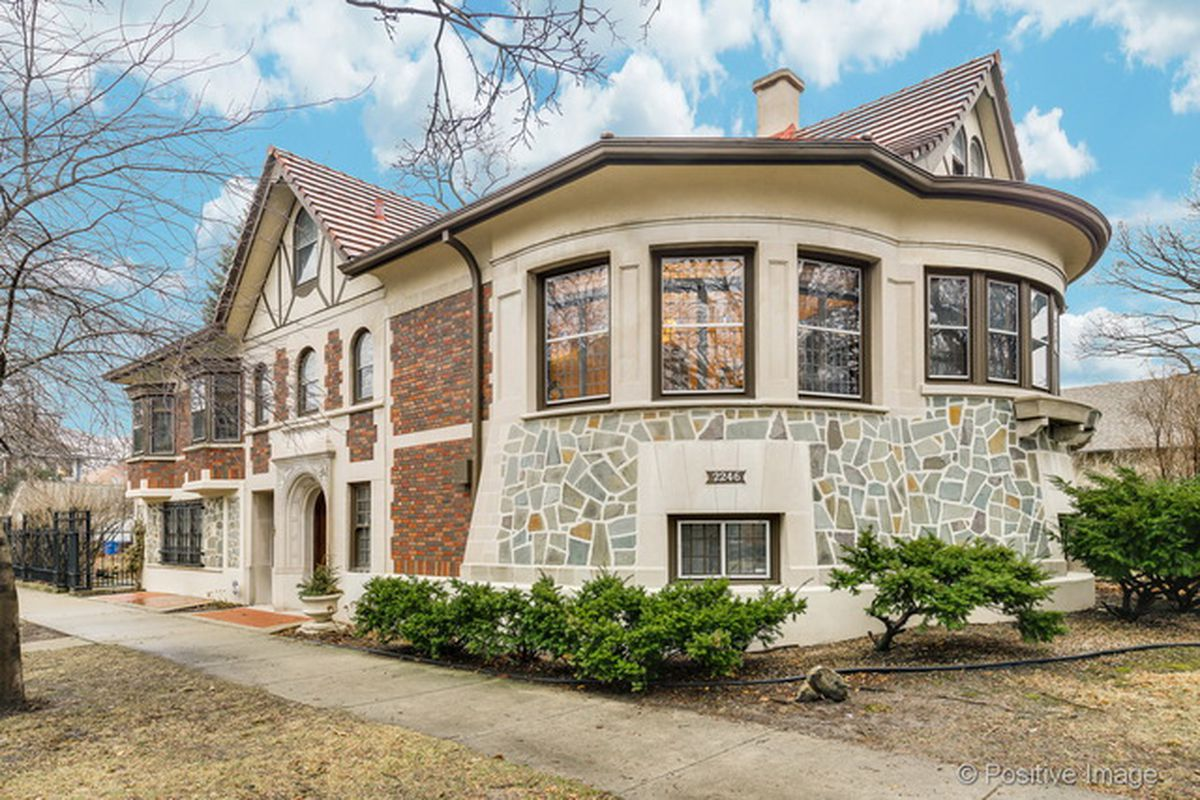 Fortress like west ridge tudor revival home lists for for Fortress house