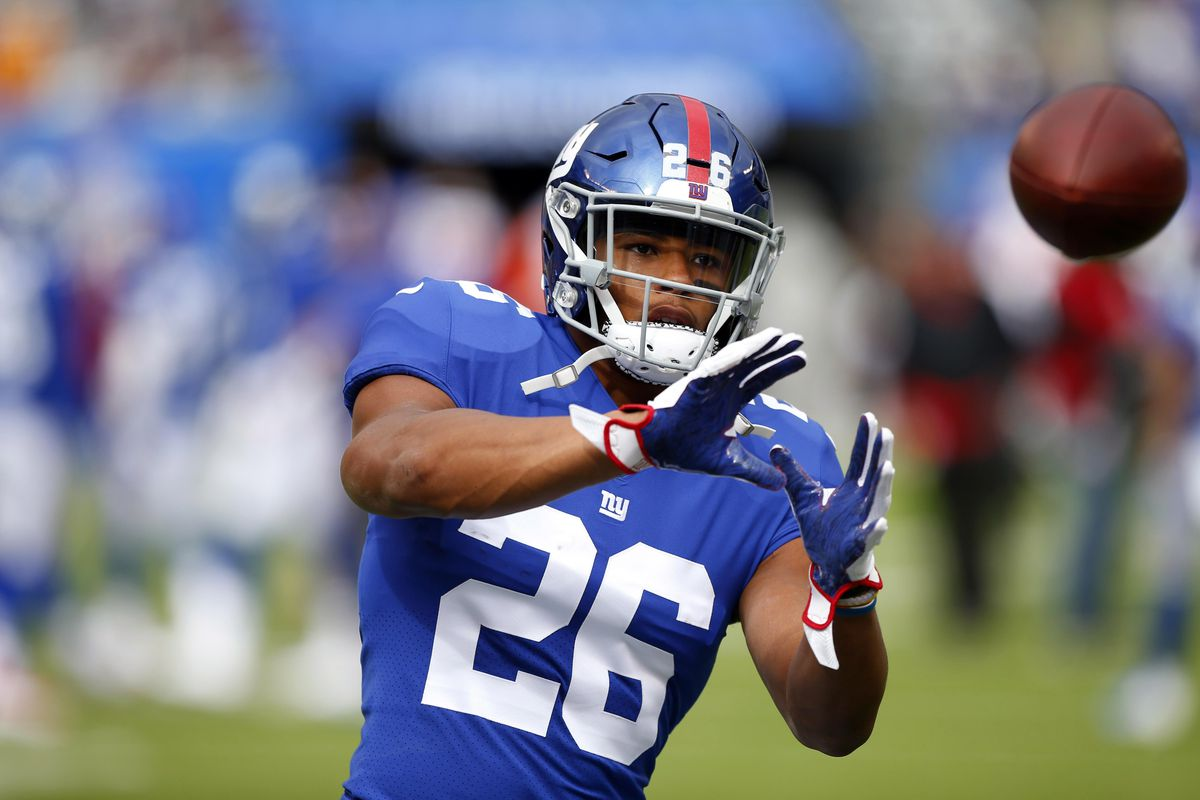 brand new bbbc2 0d707 How well was Saquon Barkley used as a receiver at the end of ...