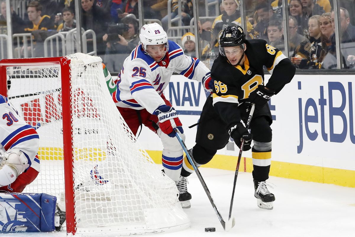 NHL: NOV 29 Rangers at Bruins