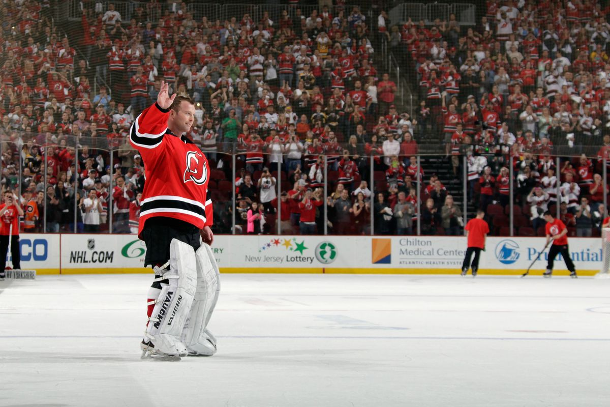 Marty waves goodbye to one of the 11 sellout crowds this season