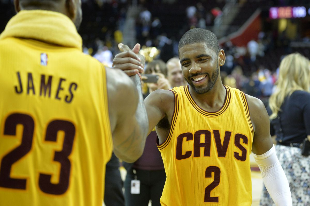 df5e79ba47f LeBron James believes Kyrie Irving can win an MVP - Fear The Sword