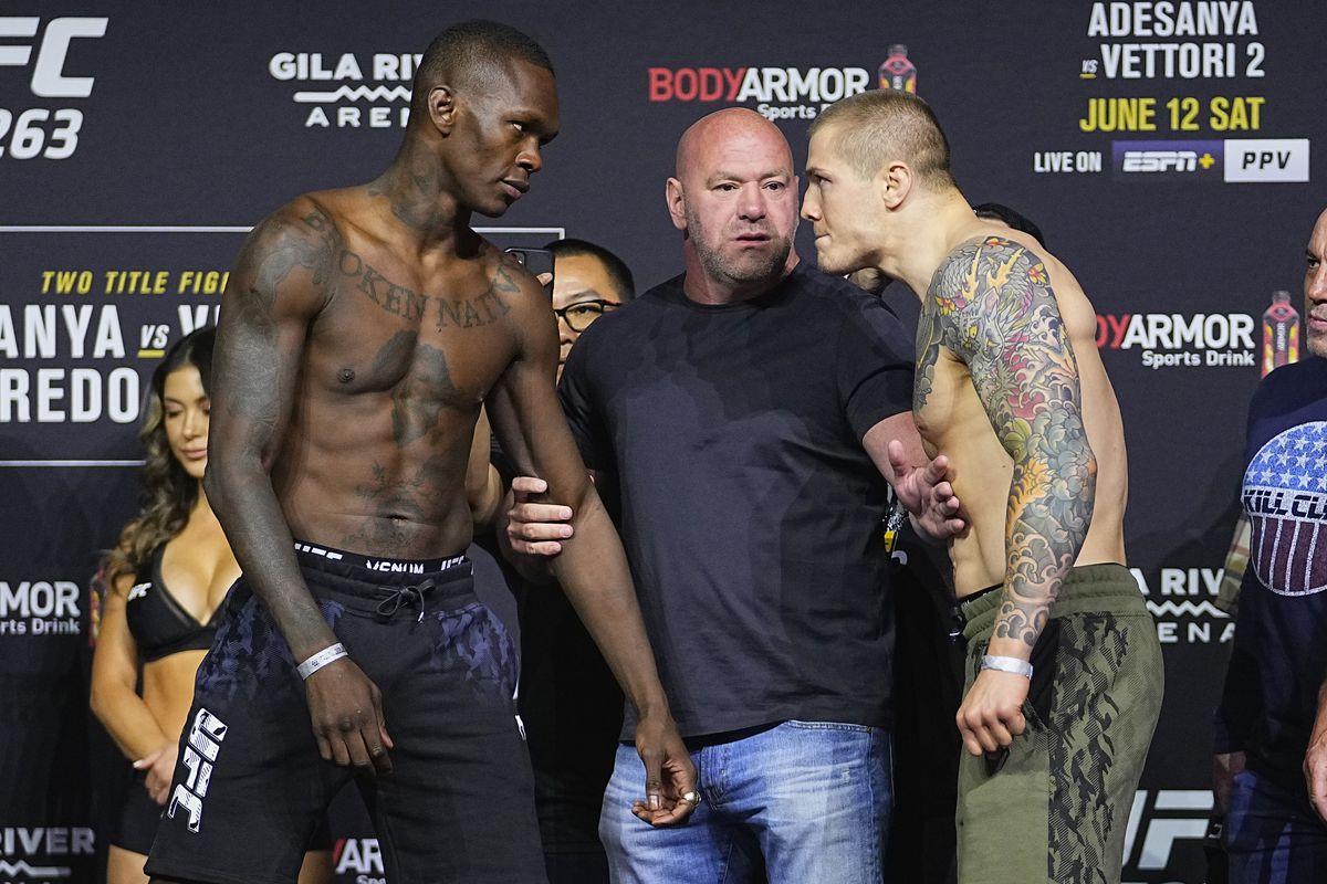 UFC 263 Weigh-in