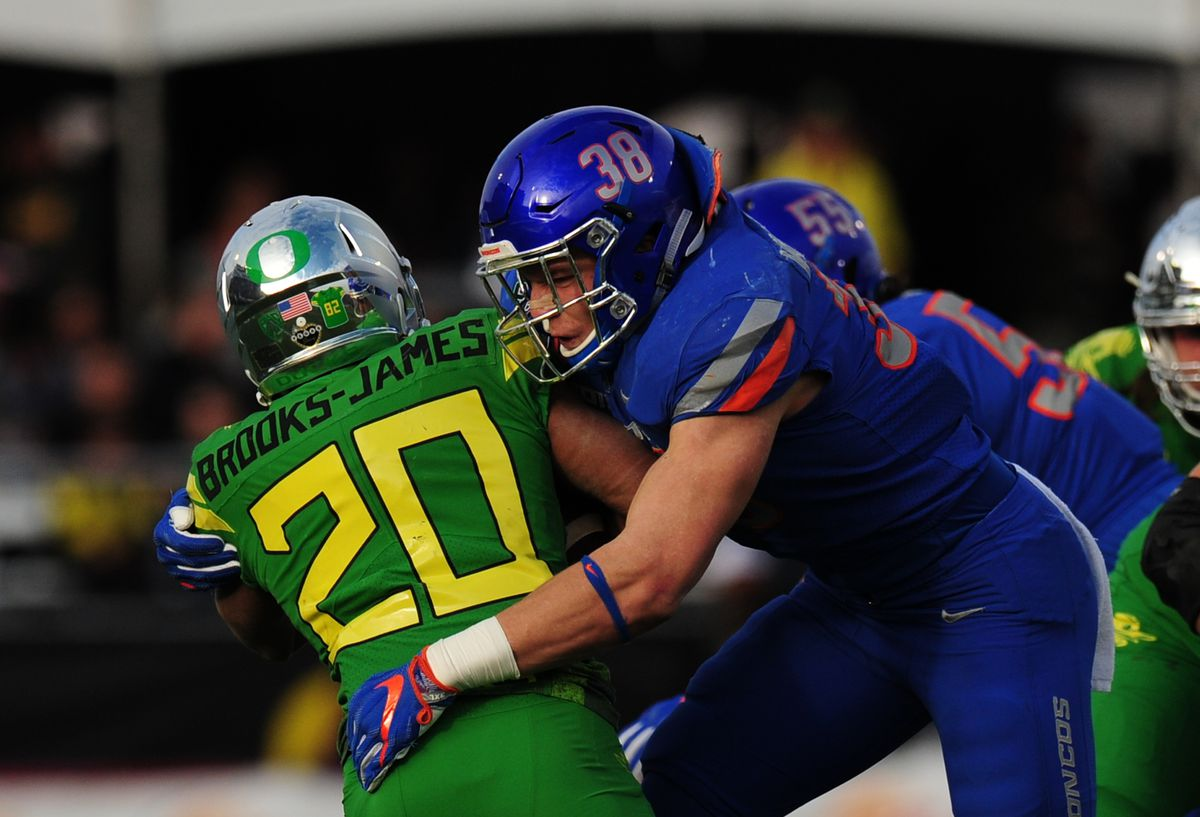 COLLEGE FOOTBALL: DEC 16 Las Vegas Bowl - Boise State v Oregon