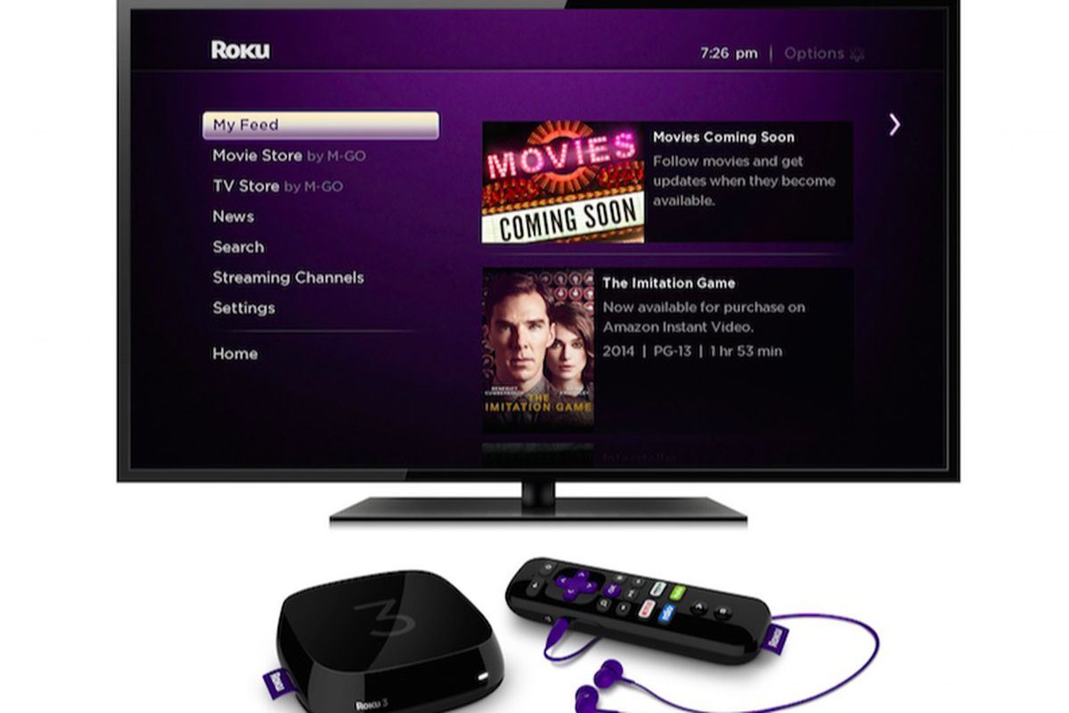 Roku Adds Voice Search, My Feed for Upcoming Movies