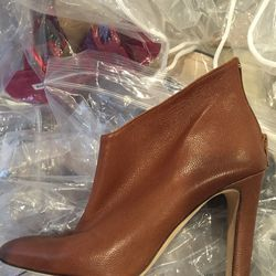 Below the ankle boot, size 37, $200