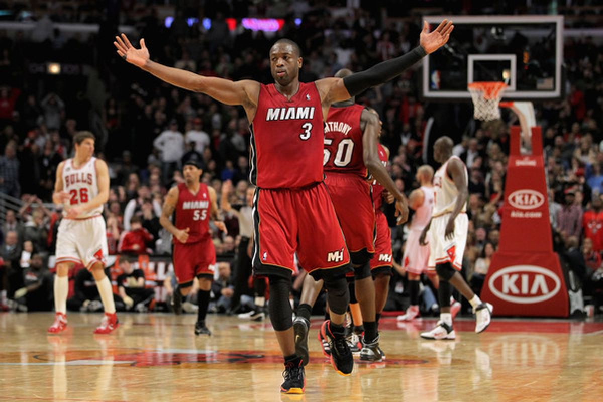 Dwyane Wade always feels the love when returning to his hometown, Chicago.