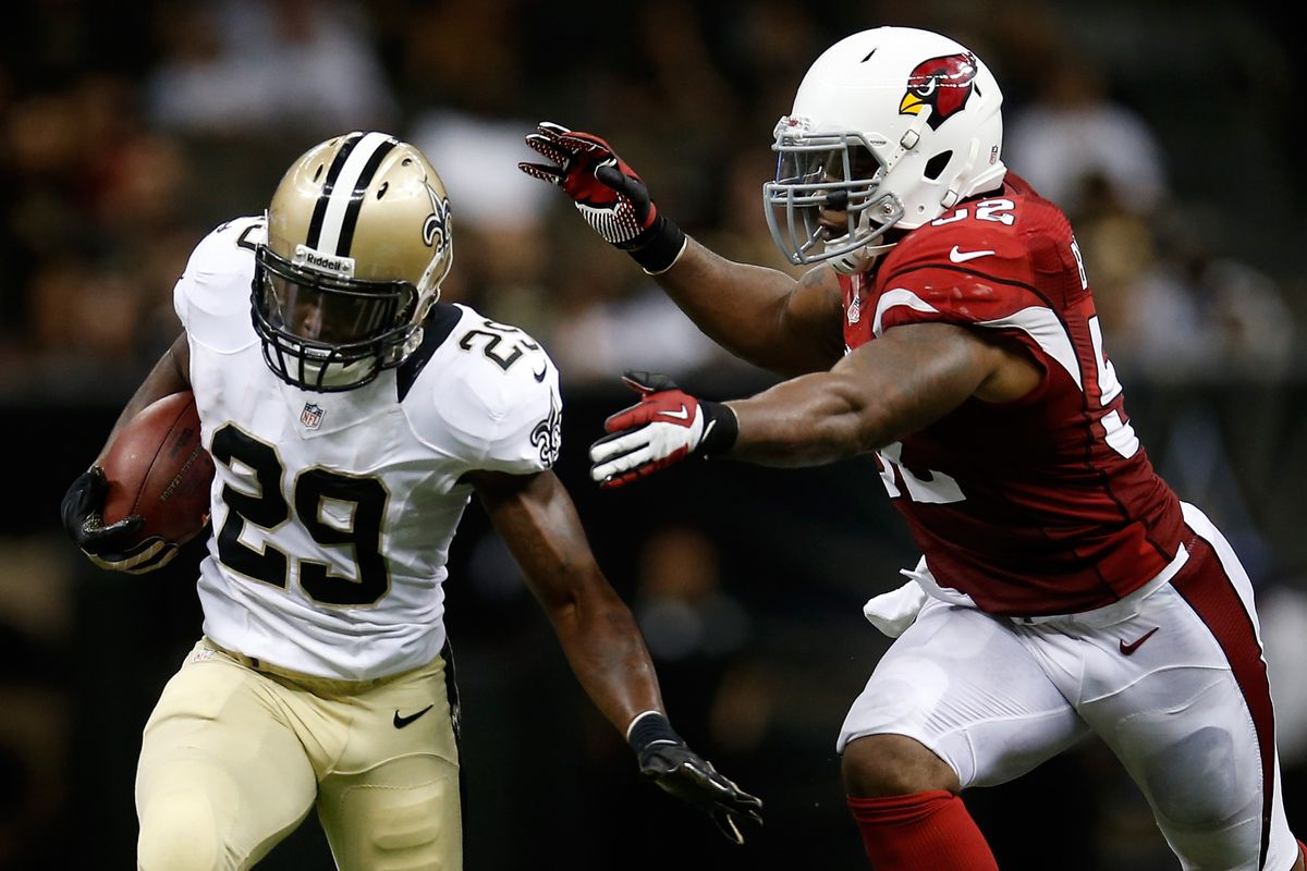 Robinson is as elusive as the Saints' running game.