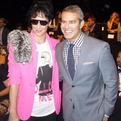 Johnny Weir and Bravo's Andy Cohen
