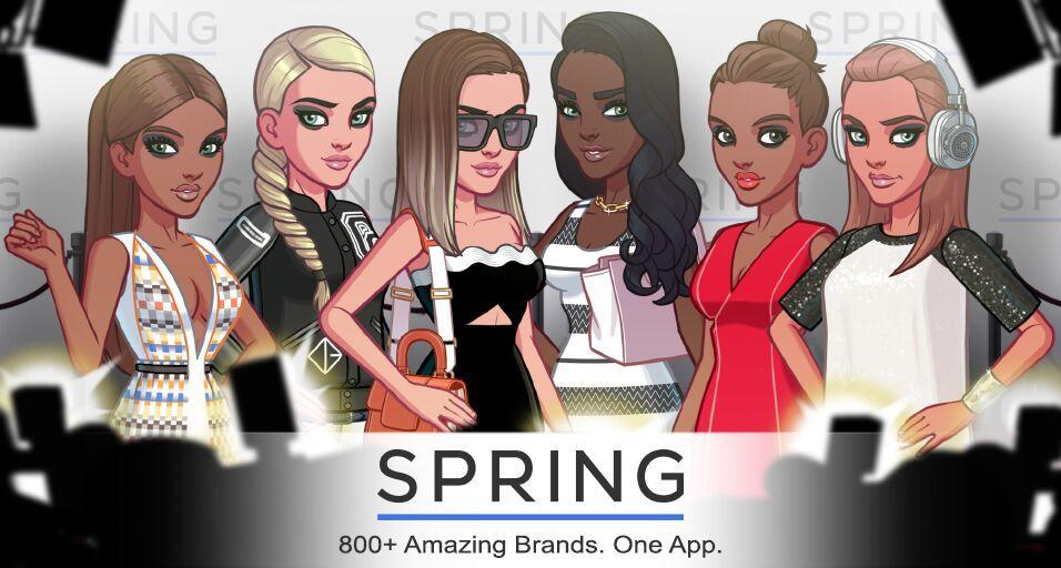 Kim Kardashian: Hollywood Partners With Shopping App Spring