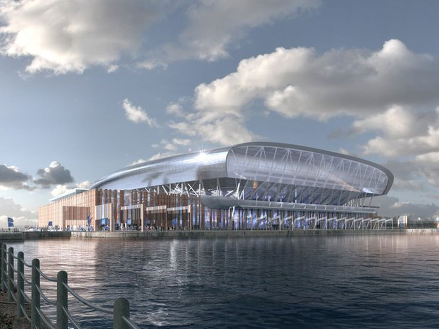 Everton Release Final Designs For Proposed Bramley Moore Dock