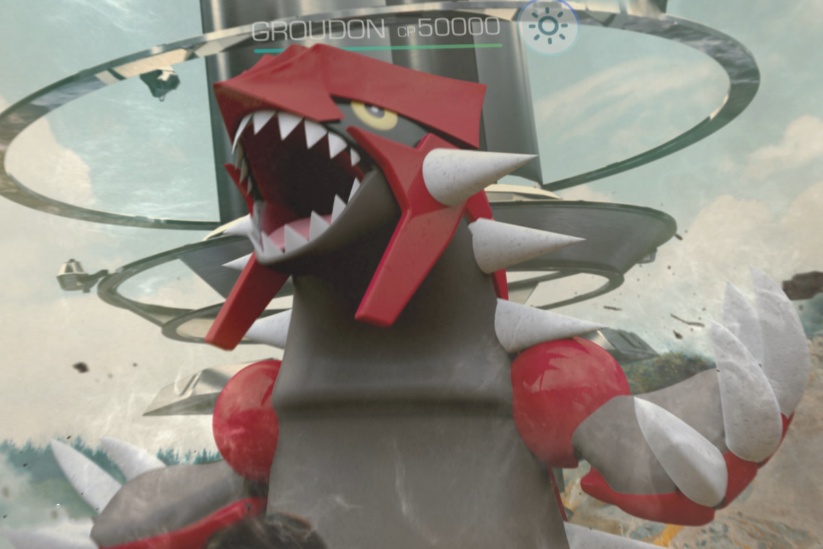Groudon now available for raid battles