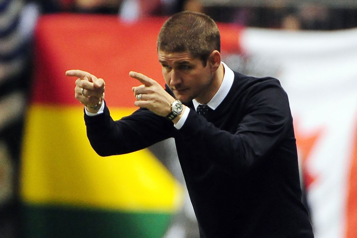 Vancouver Whitecaps coach Carl Robinson is overseeing the slow and steady changing of the guard.