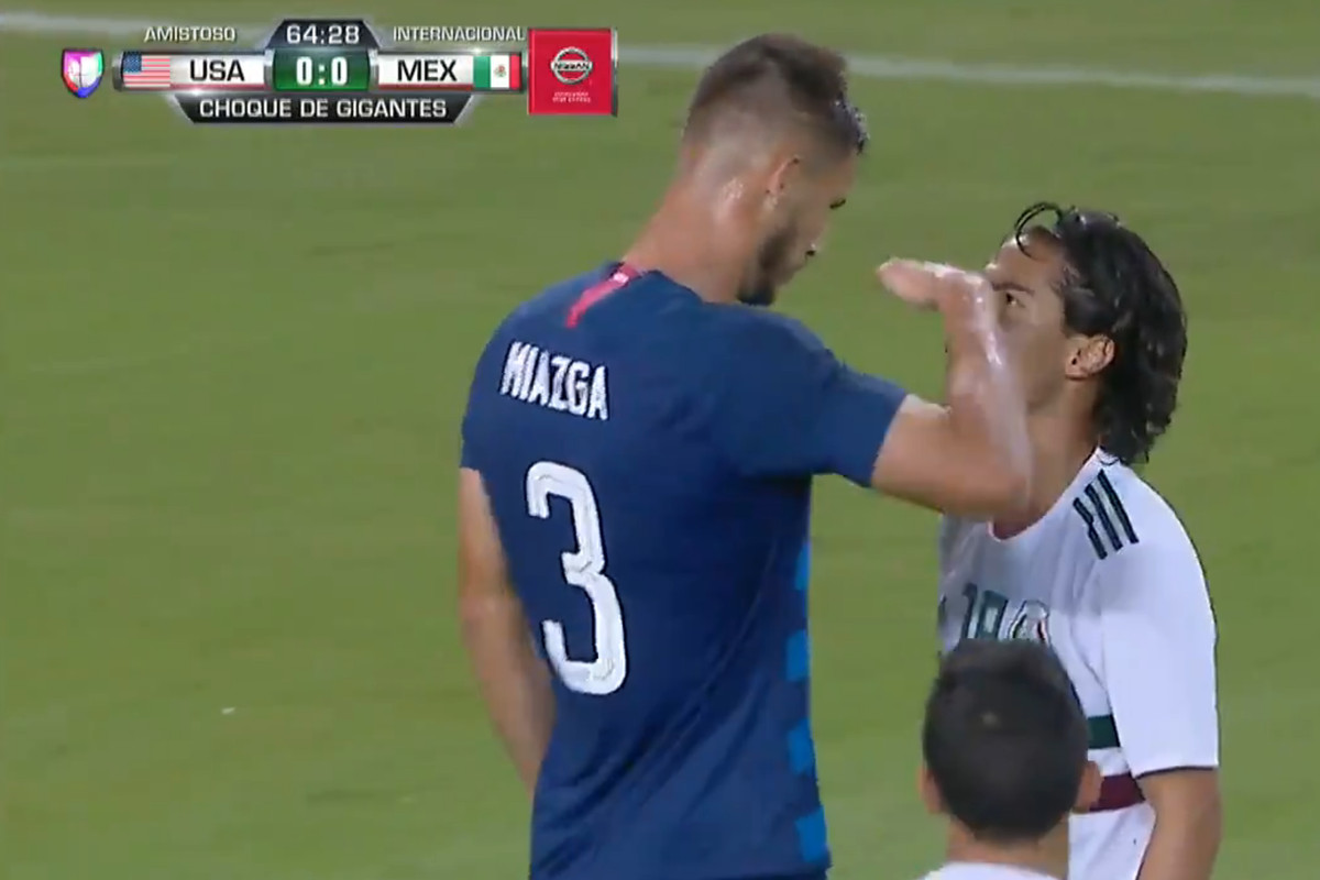 Matt Miazga Becomes An American Hero With One Moment Vs Mexico