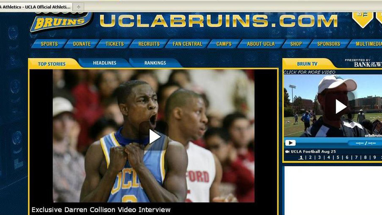 UCLA Unveils New Official Athletics Website - Bruins Nation