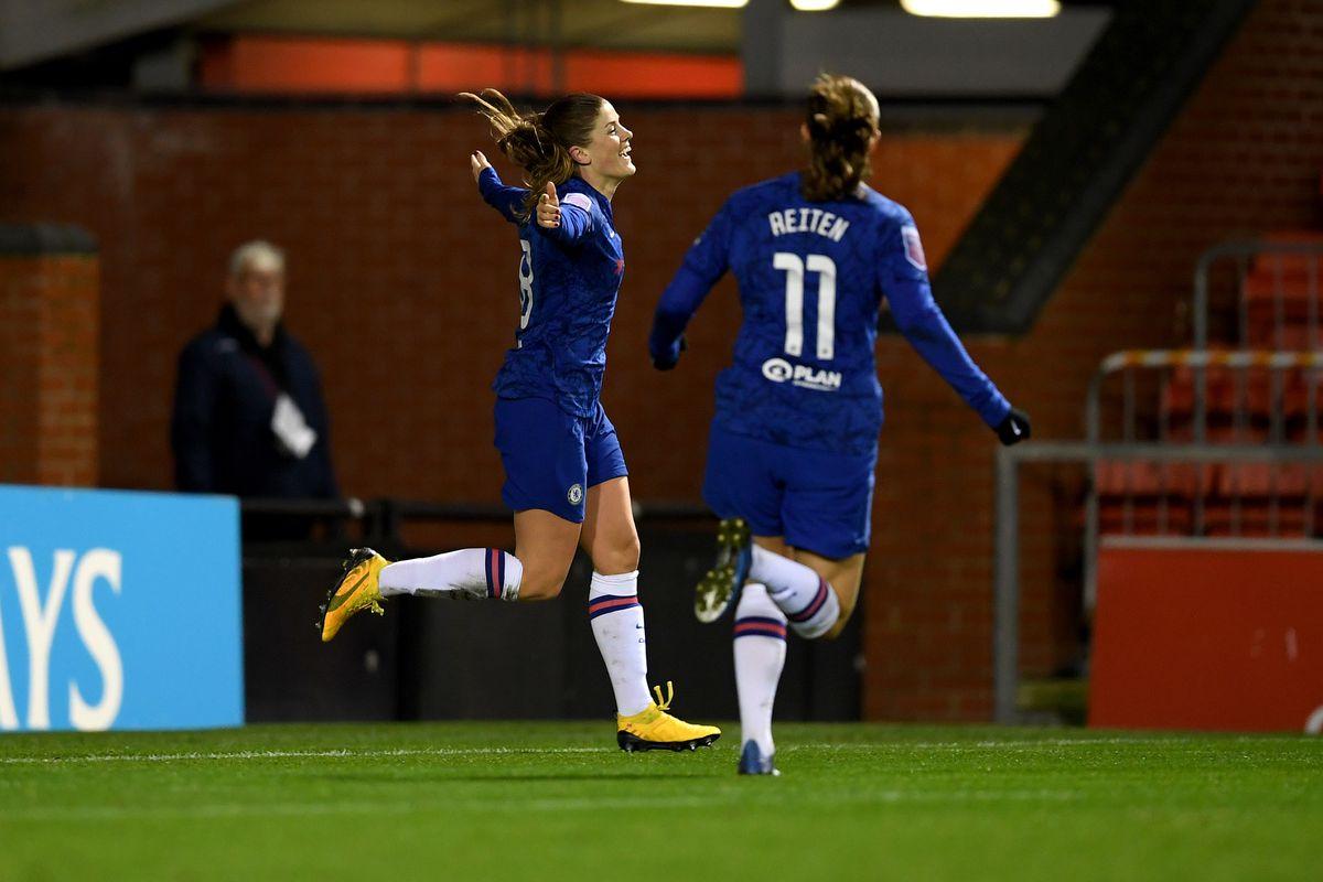 Manchester United v Chelsea FC - FA Women's Continental League Cup: Semi-Final