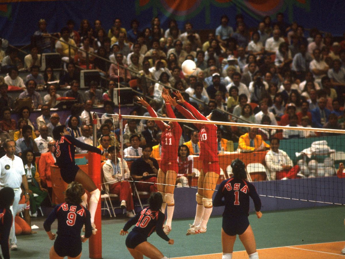 Volleyball 1984 Olympics