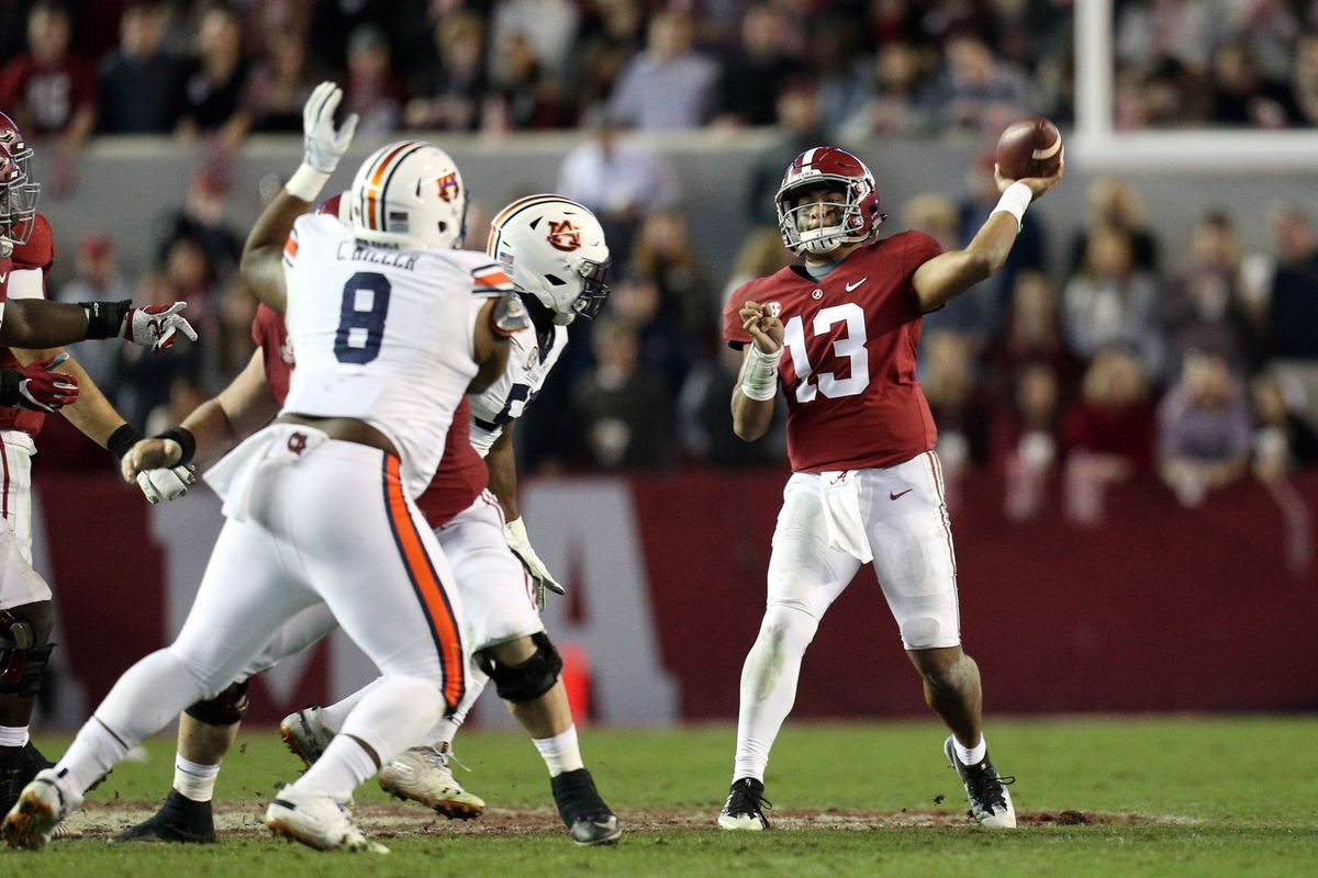 "<p zoompage-fontsize=""15"" style="""">NCAA Football: Auburn at Alabama"