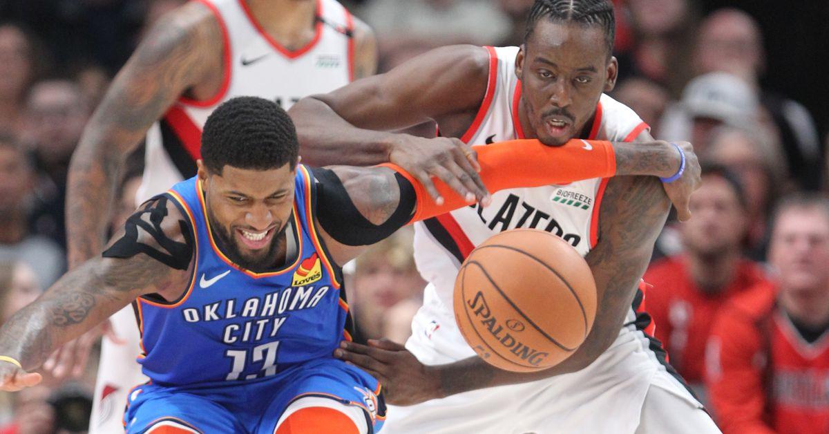 Thunder Vs Trail Blazers, NBA Playoffs Game 1 Final Score