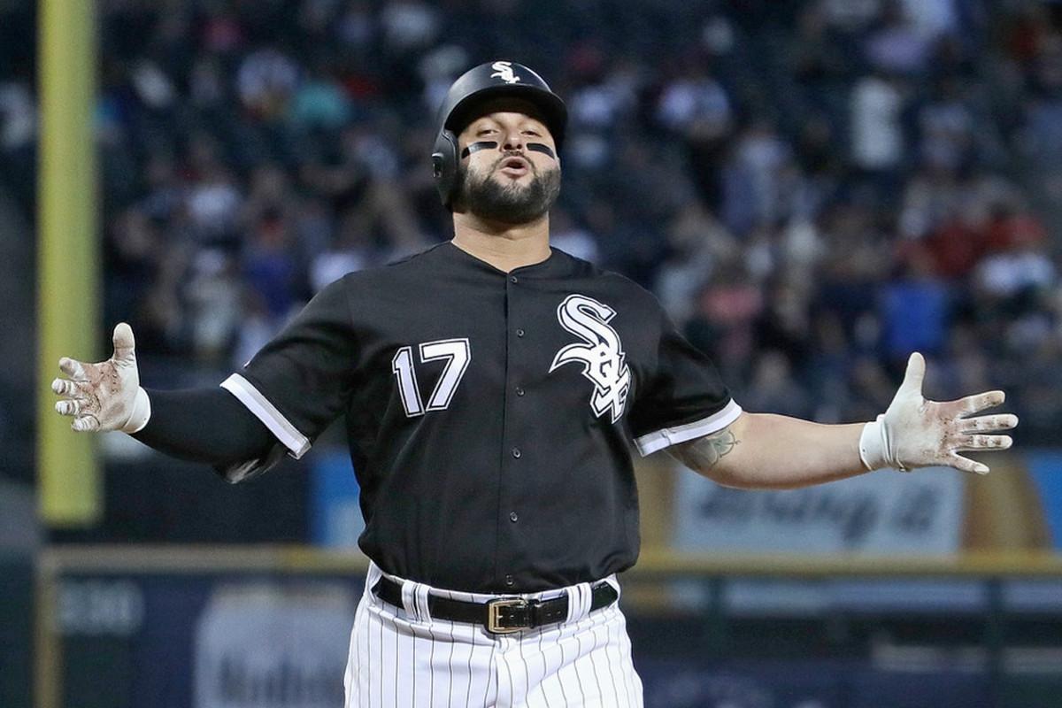 Sox first baseman/designated hitter Yonder Alonso
