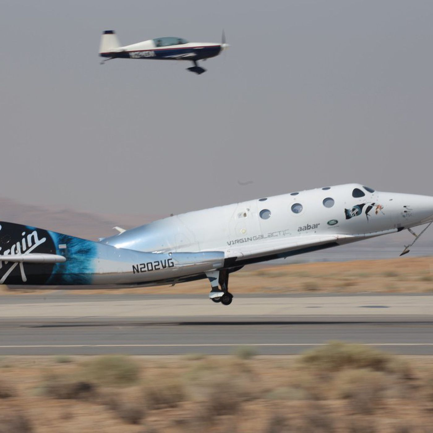 Virgin Galactic s spaceplane flew higher than ever before in its third powered flight The Verge