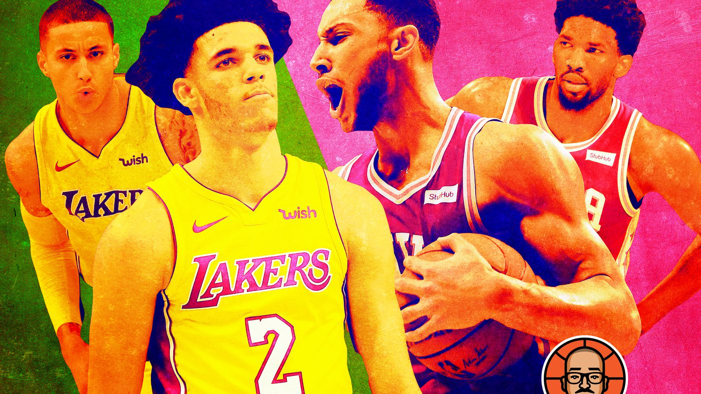 Who's More Exciting, the Young Lakers or the Young Sixers?