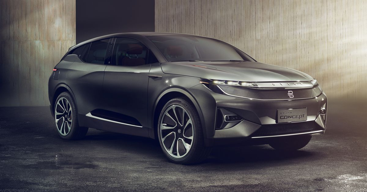 Byton S Electric Suv Concept Is Another Wild Stab At The