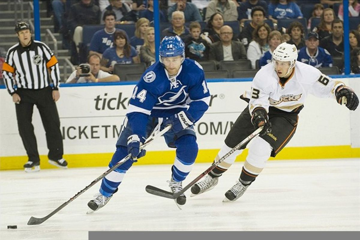 Game 59 Anaheim Ducks At Tampa Bay Lightning Raw Charge