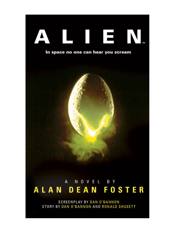 Alien novelization cover