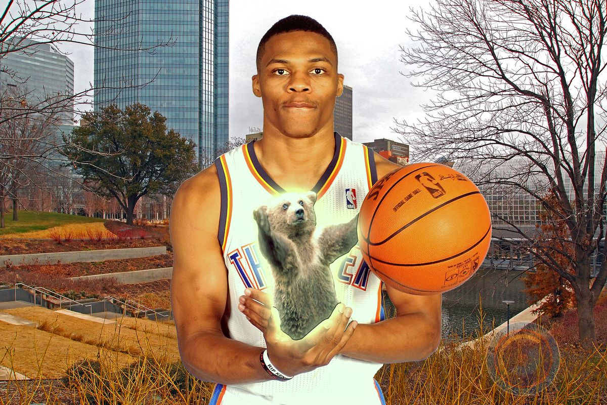 Just when you thought you understood the powers of Russell Westbrook....