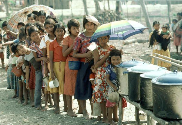 displaced women Central America