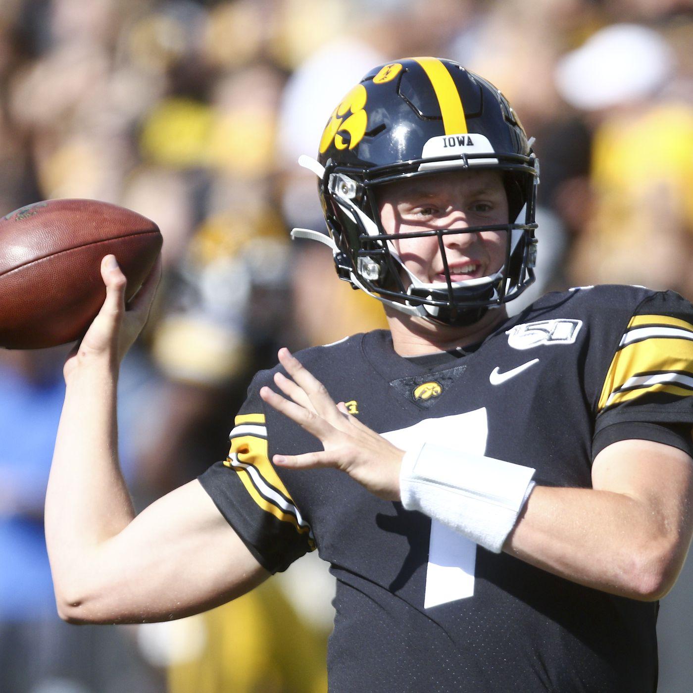 Iowa Football 2020 Position Previews Quarterback Black Heart Gold Pants