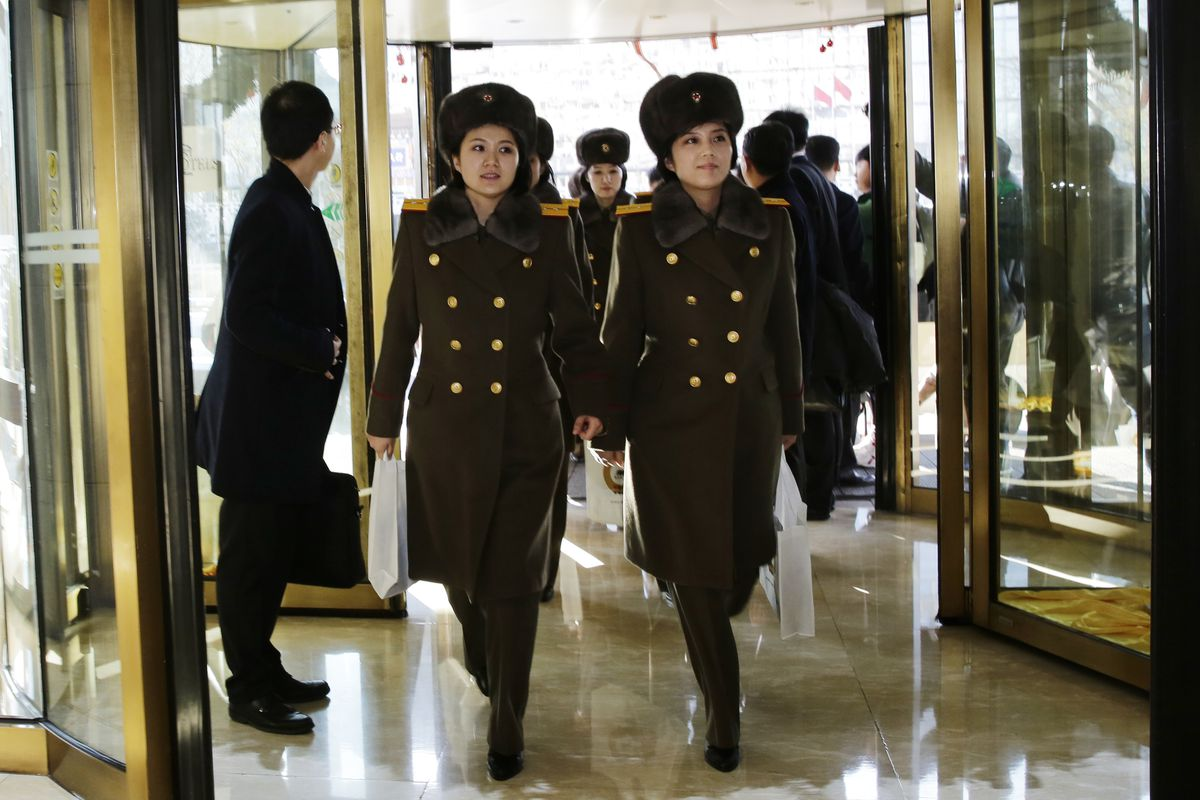 Members of North Korea's all-female Moranbong Band arrive in Beijing on a trip that would become a major diplomatic incident, precipitating a breakdown in China-North Korea relations, which perhaps contributed to this week's nuclear tests.