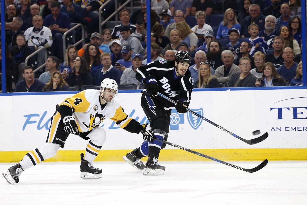 NHL: Pittsburgh Penguins at Tampa Bay Lightning