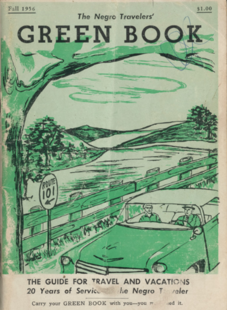 The cover of the Negro Travelers' Green Book, 1956.