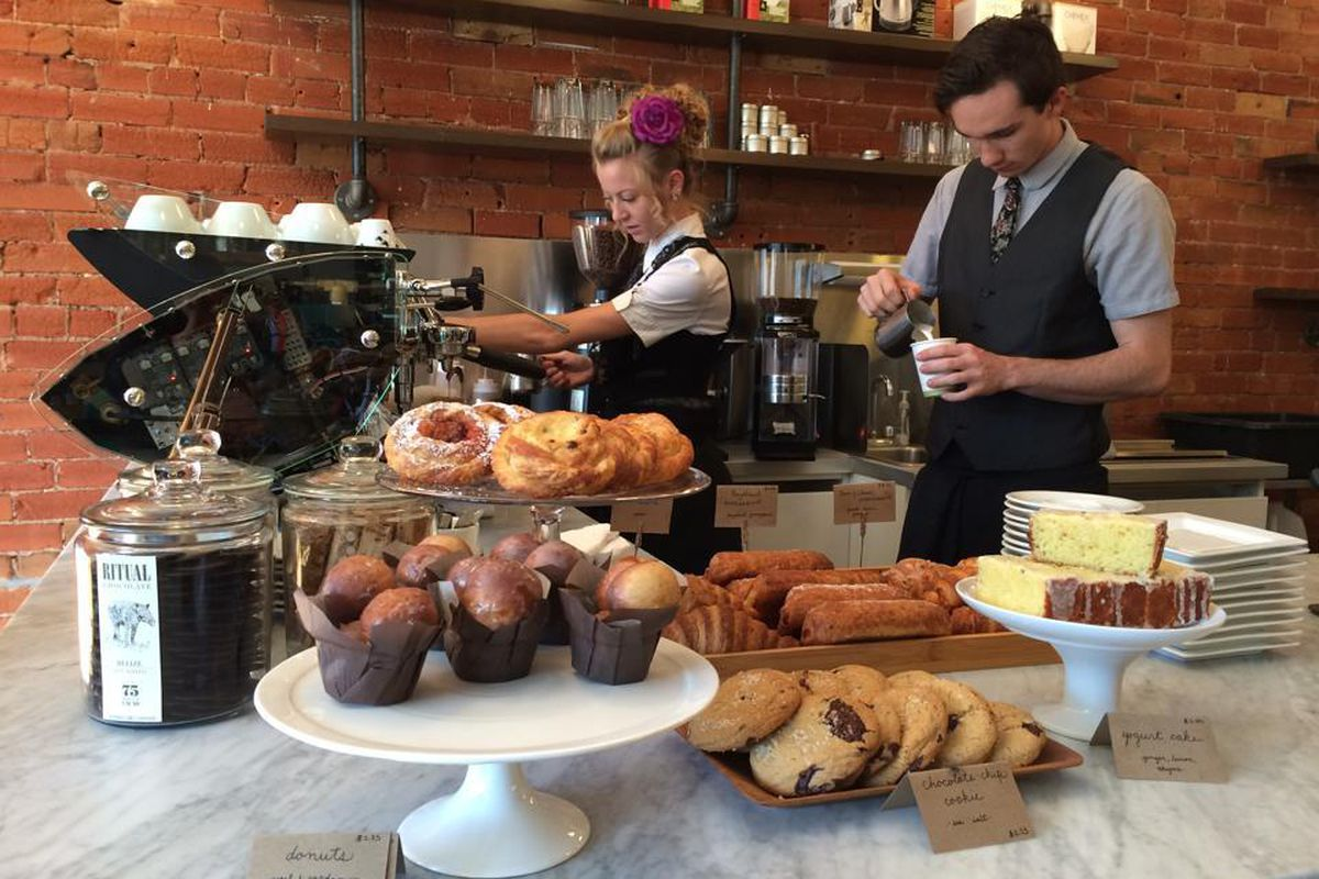 A selection of new pastries is available at Boxcar