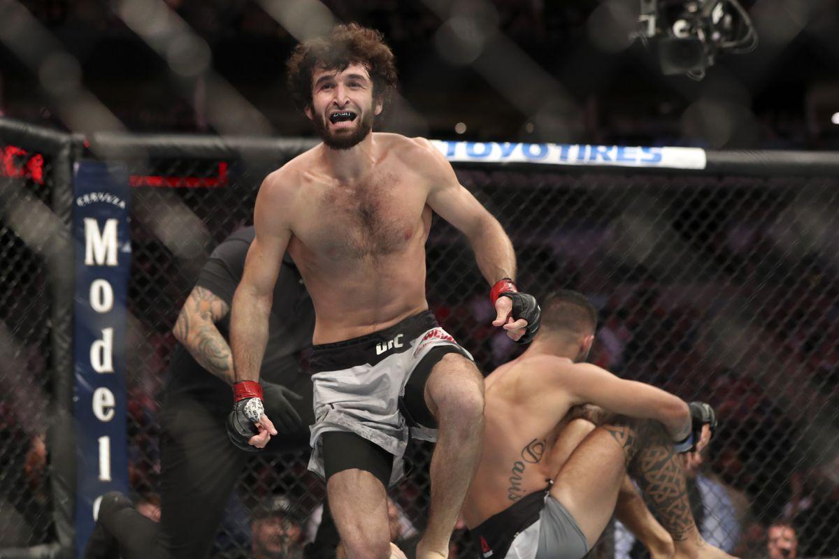 MMA: UFC 228-Magomedsharipov vs Davis