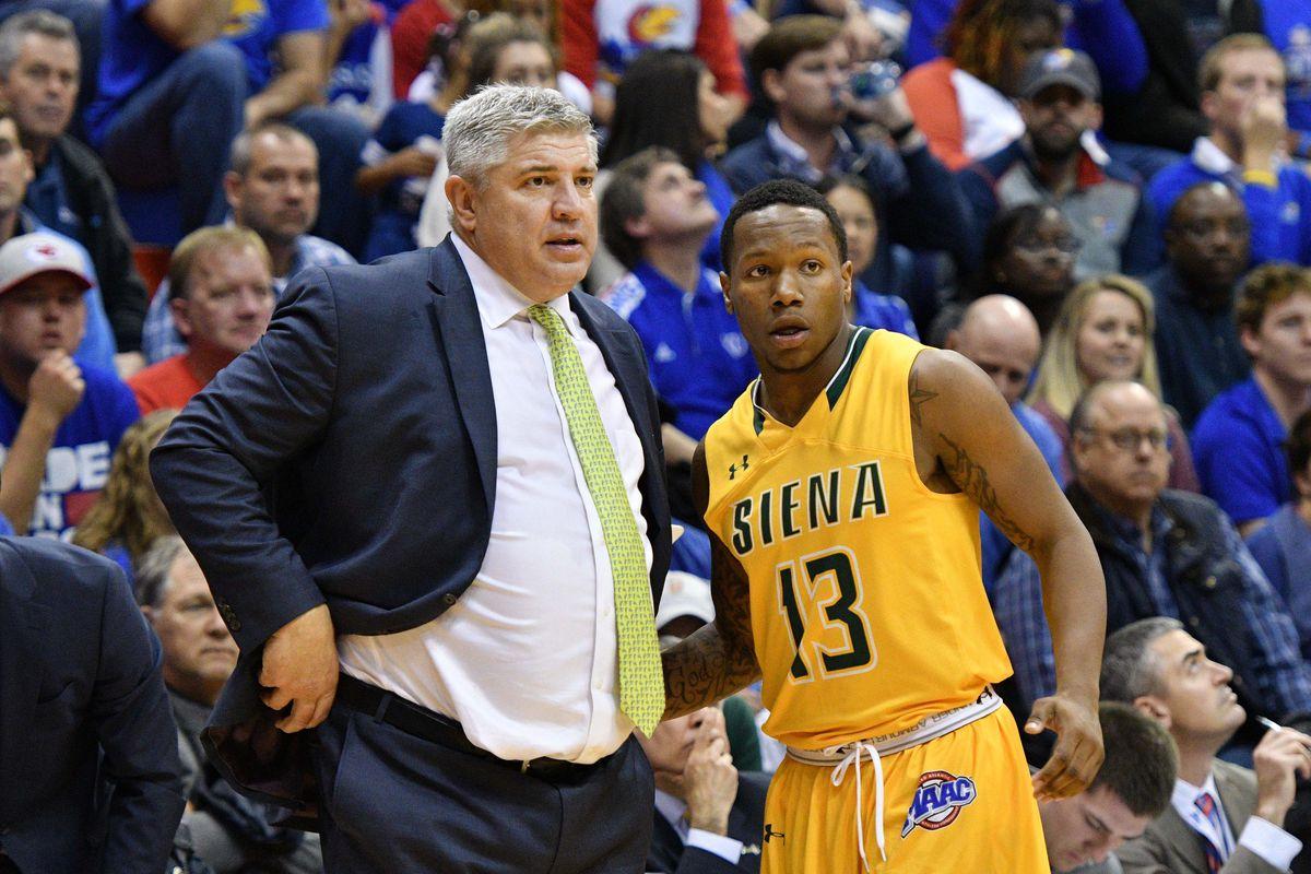NCAA Basketball: Siena at Kansas