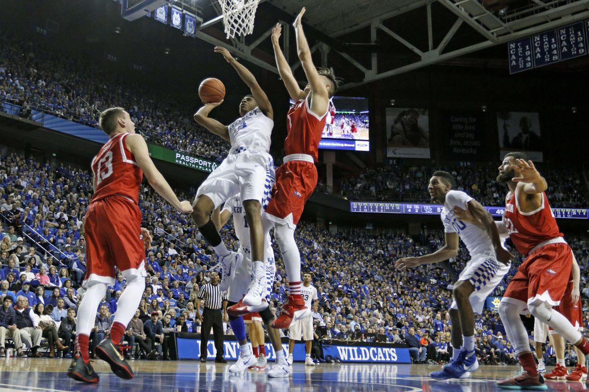 NCAA Basketball: Boston U at Kentucky