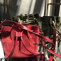 Small bucket bag, $399