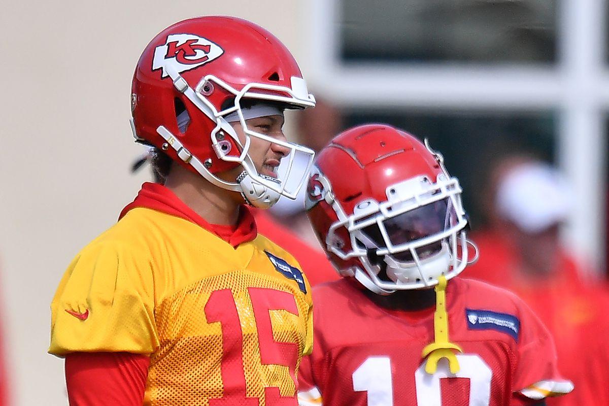 Kansas City Chiefs Practice