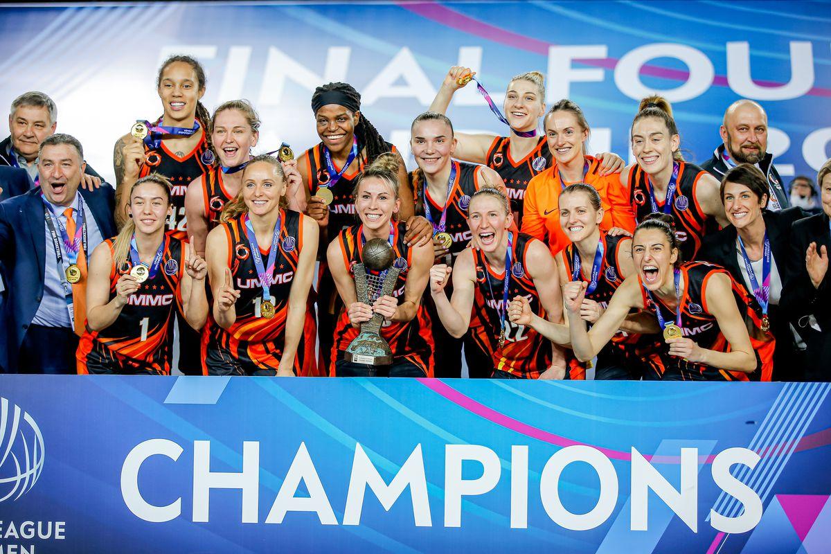 Perfumerias Avenida v UMMC Ekaterinburg - EuroLeague Women Final