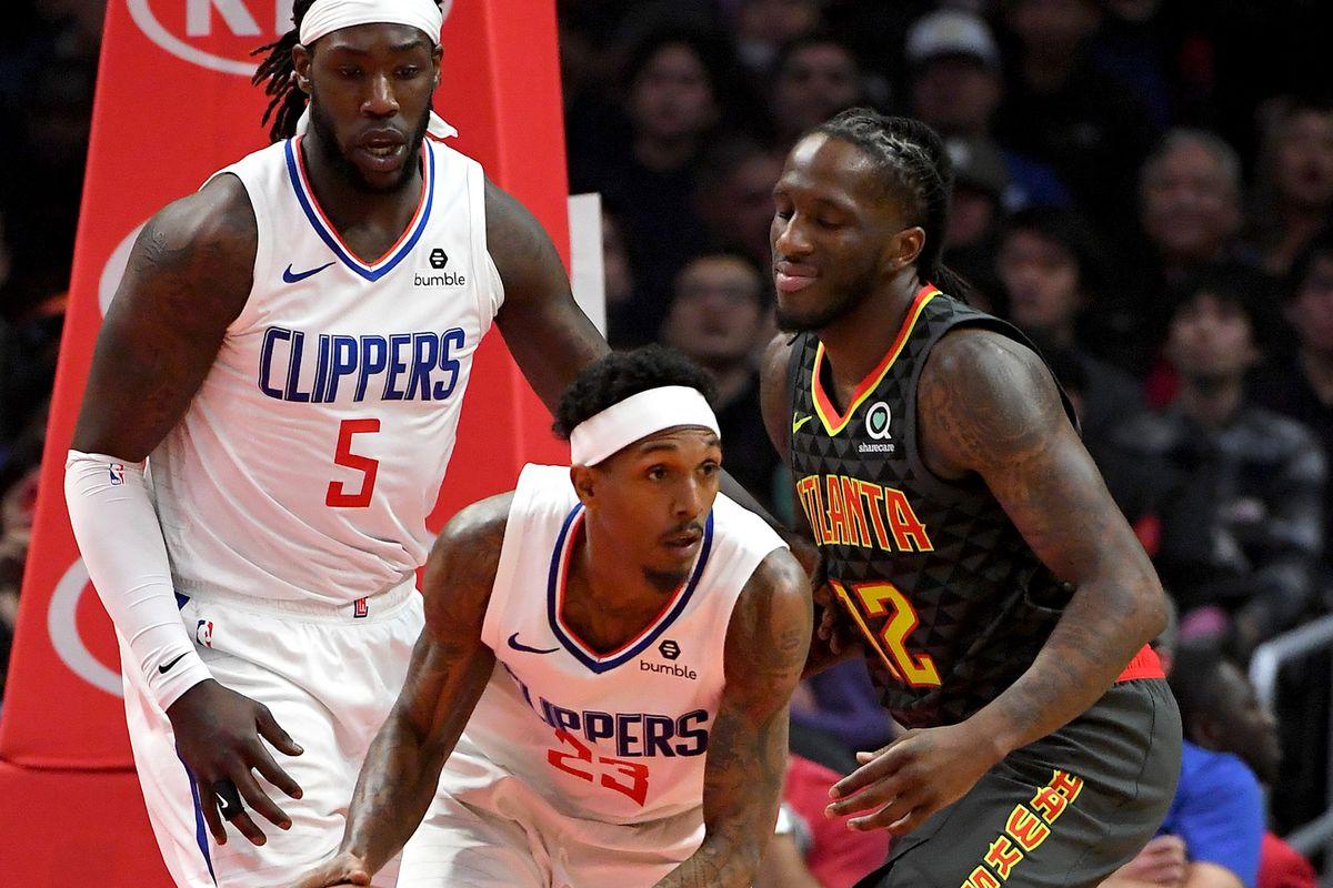 NBA: Atlanta Hawks at Los Angeles Clippers