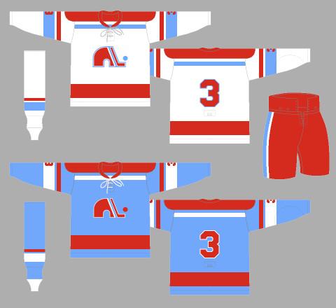 Quebec Nordiques Avalanche concept jerseys