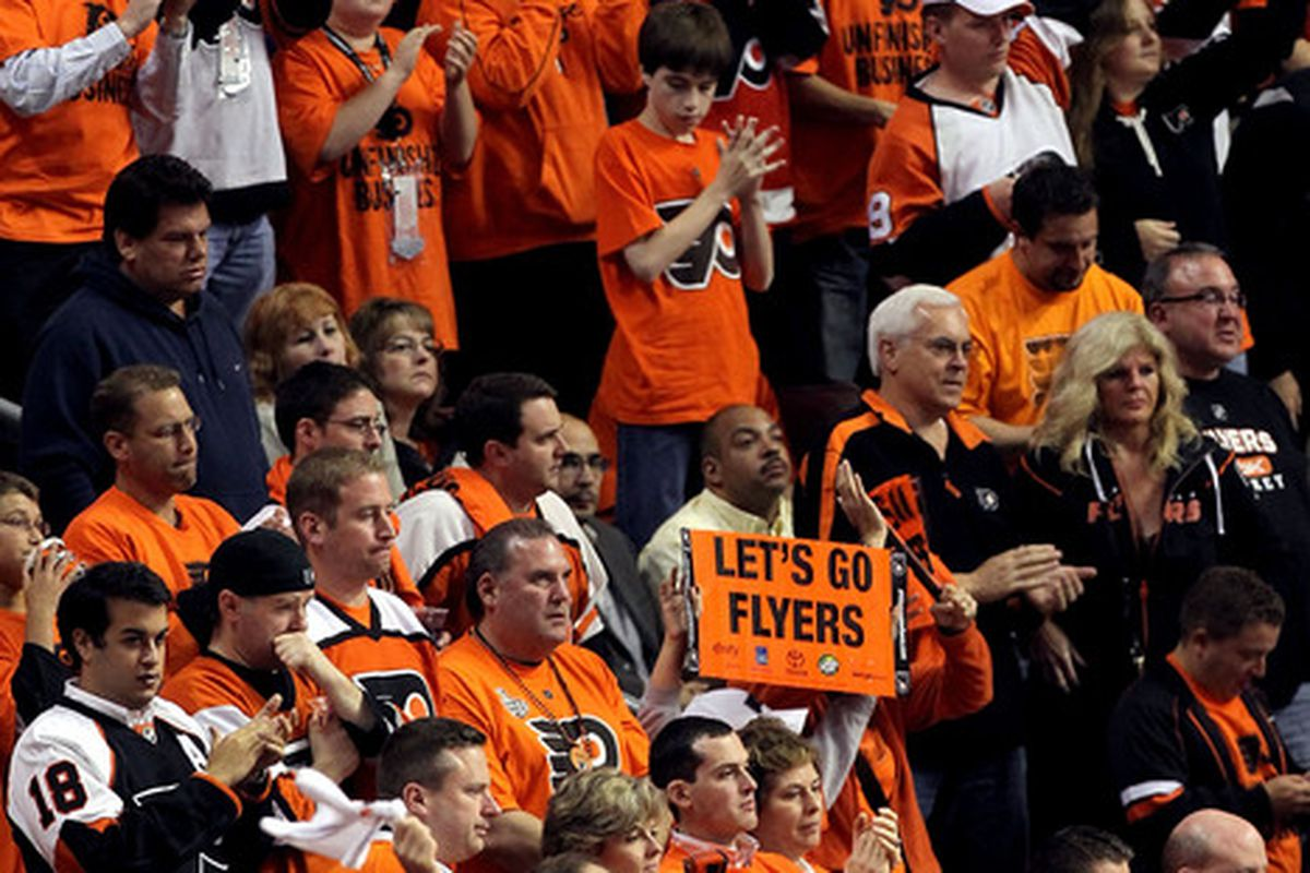Thank you, Flyers.