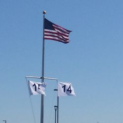 Flags fly in honor of Ernie Banks -